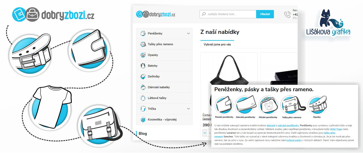 ikony pro webovou prezentaci